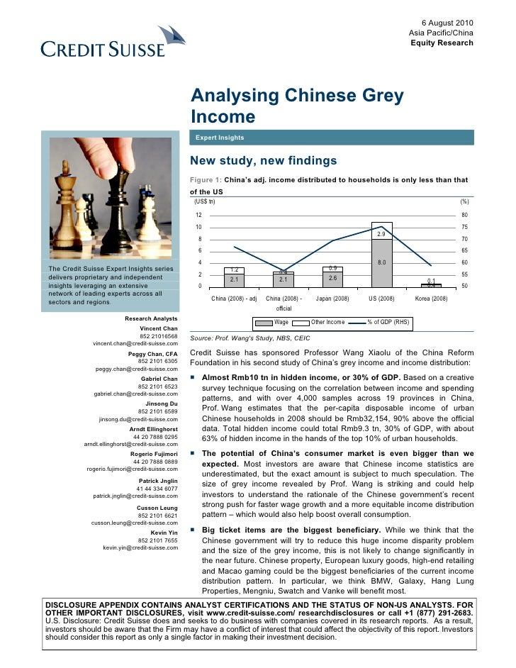 2010.8.6 credit suisse china's hidden income