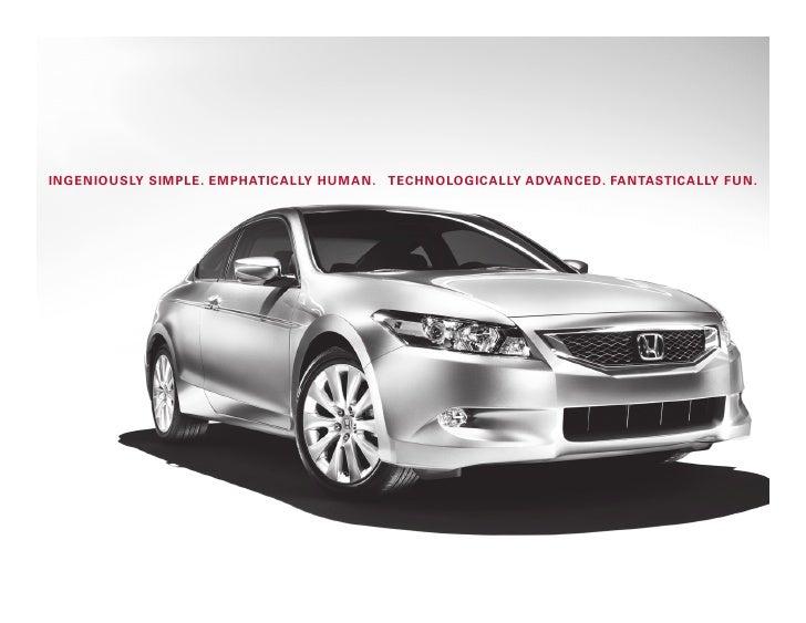 2010 accord coupe brochure diamond honda glendale for Diamond honda of glendale