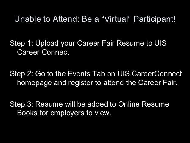 2010 career fair prep workshop