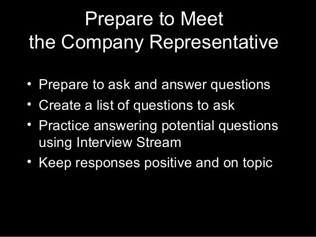 questions to ask at a career fair