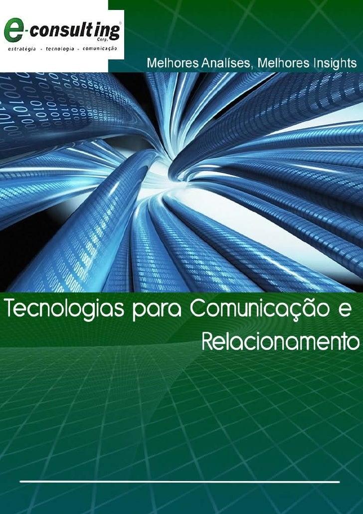 Tecnologias para Comunicação e Relacionamento - 1