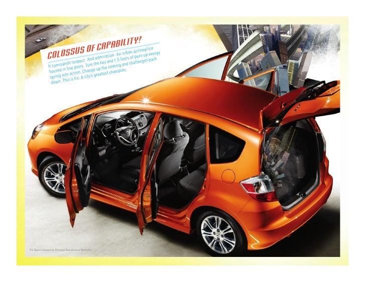 Dch Honda Temecula >> 2010 Honda Fit Brochure | DCH Honda of Temecula