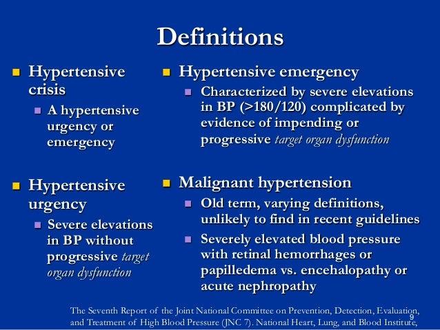 GEMC: Hypertensive Urgency and Emergency: Resident Training