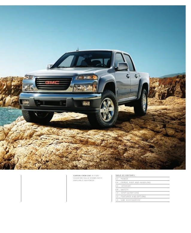 2010 GMC Canyon Toledo Brochure