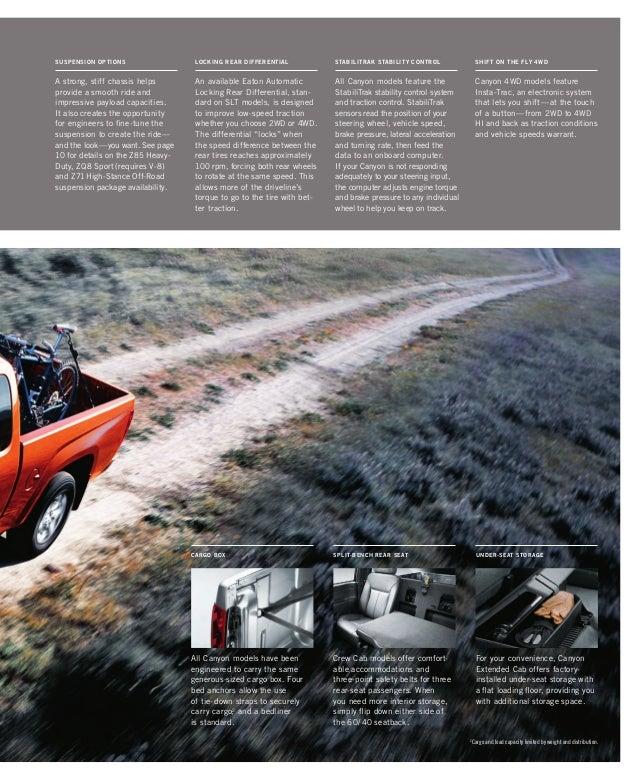 Buick Toledo: 2010 GMC Canyon Toledo Brochure