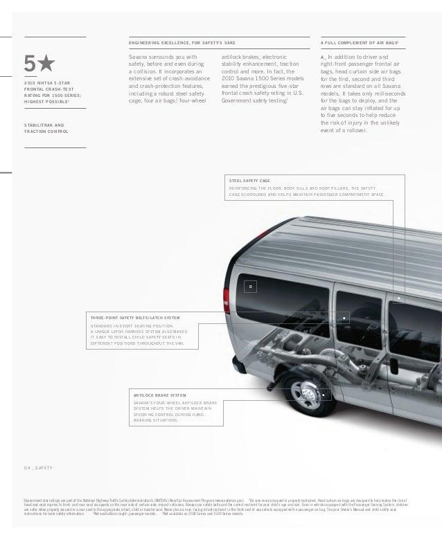 2010 GMC Savana Toledo Brochure