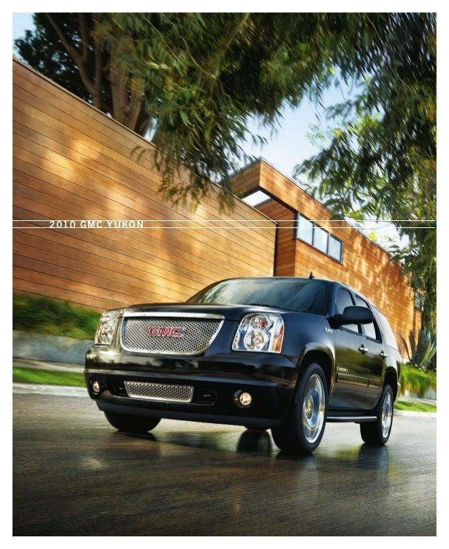 Buick Dealership Columbia Sc: 2010 GMC Yukon Toledo Brochure