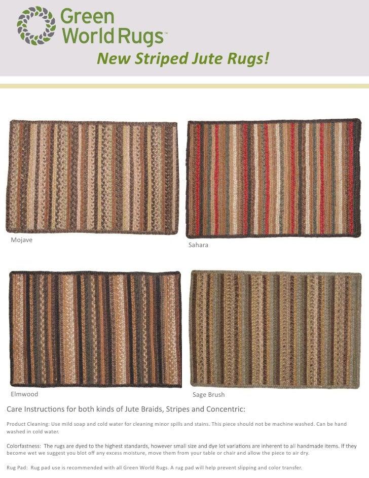 New Striped Jute Rugs!