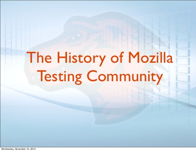 mozilla s crowdsourcing Are open source and crowdsourcing two sides why some people say open source and crowdsourcing are very different mozilla's recent open design initiative.