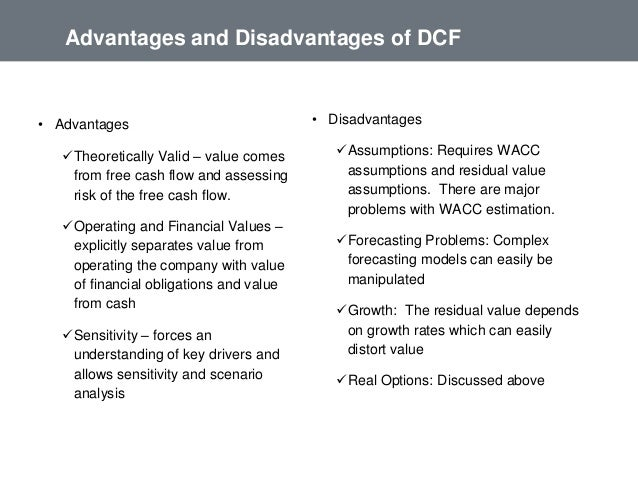 wacc advantages and limitations And its weighted average cost of capital is given by wacc = we ke + wd(1 − t)kd 5 wacc both have advantages and disadvantages 14 wacc: the cost of equity.