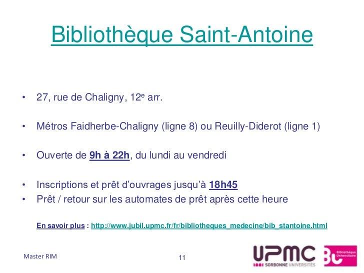 Bibliothèque Saint-Antoine•   27, rue de Chaligny, 12e arr.•   Métros Faidherbe-Chaligny (ligne 8) ou Reuilly-Diderot (lig...