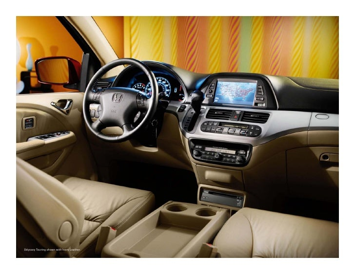 Odyssey Touring Shown With Ivory Leather.