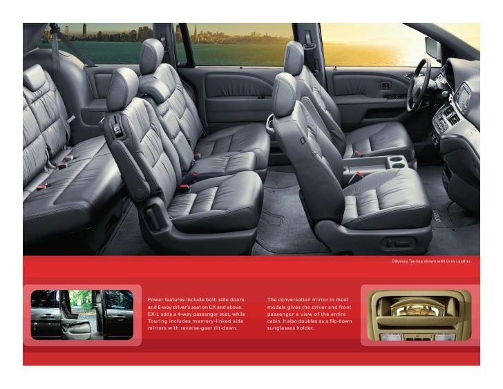 2010 honda odyssey minivan brochure dch honda of temecula. Black Bedroom Furniture Sets. Home Design Ideas