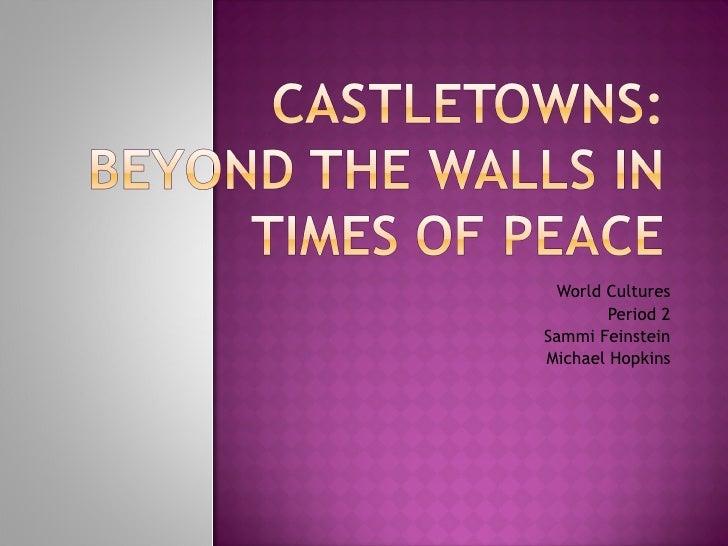 World Cultures Period 2 Sammi Feinstein Michael Hopkins