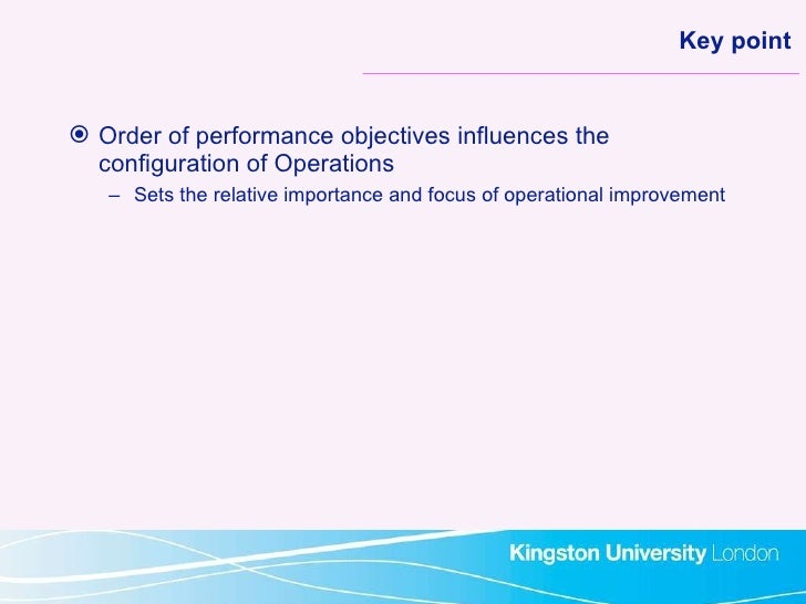 importance of five objective quality speed dependbility flexibility and cost Get free answers for 'who developed 5 performance objectives quality speed dependability cost and flexibility' and find homework help questions at inbumnet.