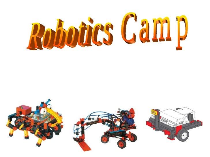 Robotics Camp 机器班假日营