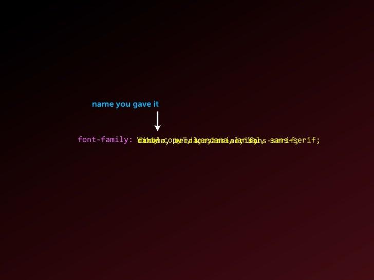 File Formats True Type (.ttf) Open Type (.otf)