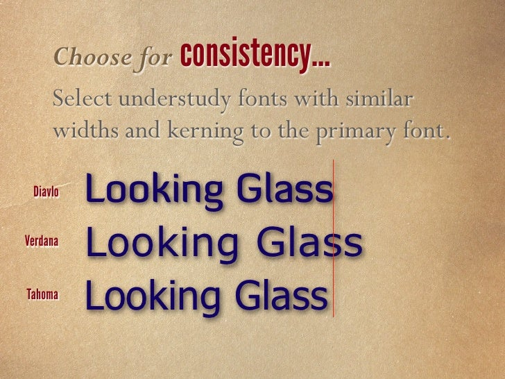 Choose for style availability…     Select fonts with bold, italic, and bold/     italic versions. Baskerville Cambria     ...