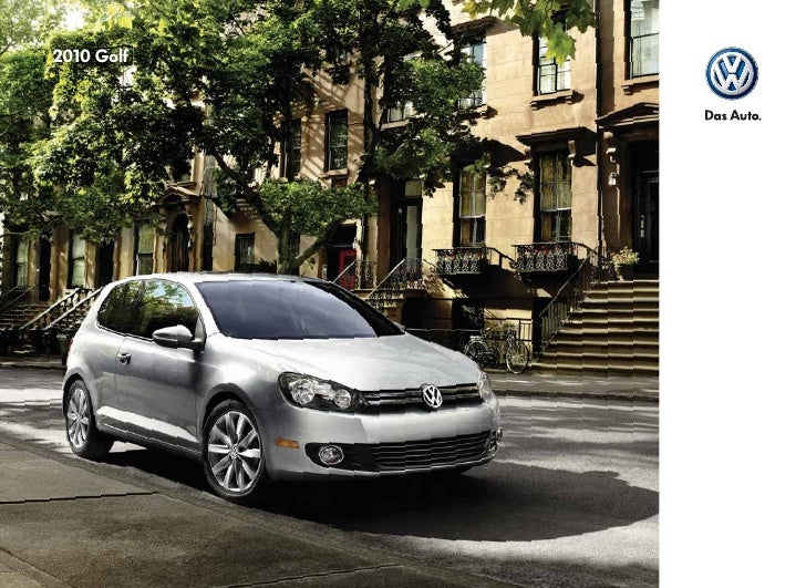 Did you know that the Volkswagen Golf was named the 2009 World Car of the Year?* Or that Volkswagen has ESP® standard on a...