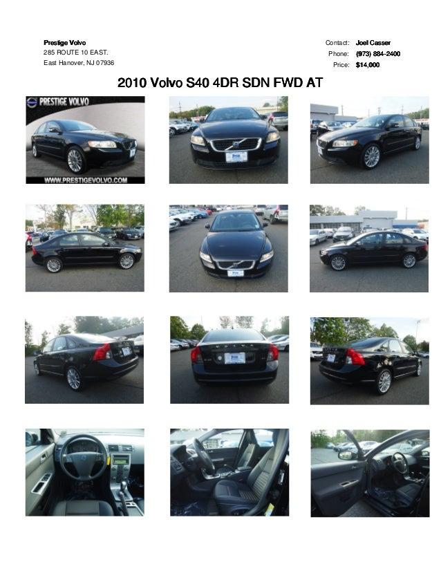 2010 volvo s40 with manual transmission for sale at prestige volvo ea rh slideshare net 2000 Volvo S40 1.9T 2000 Volvo S40 1 9T Review