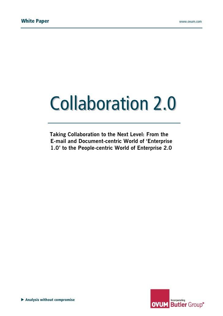 Collaboration 2.0