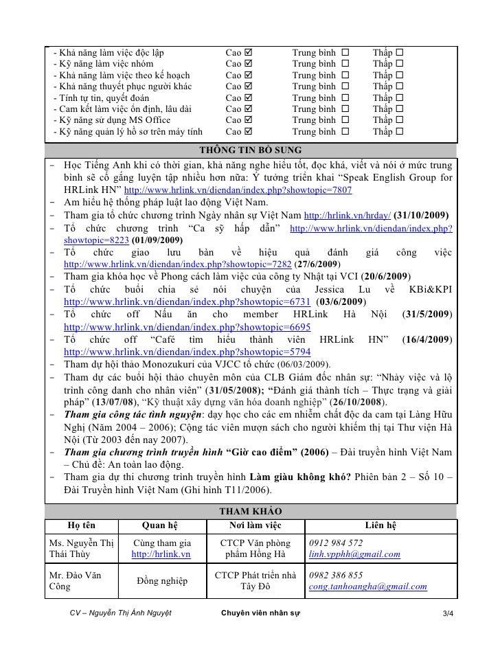 2010 01 30 Anh Nguyet Cv Slide 3