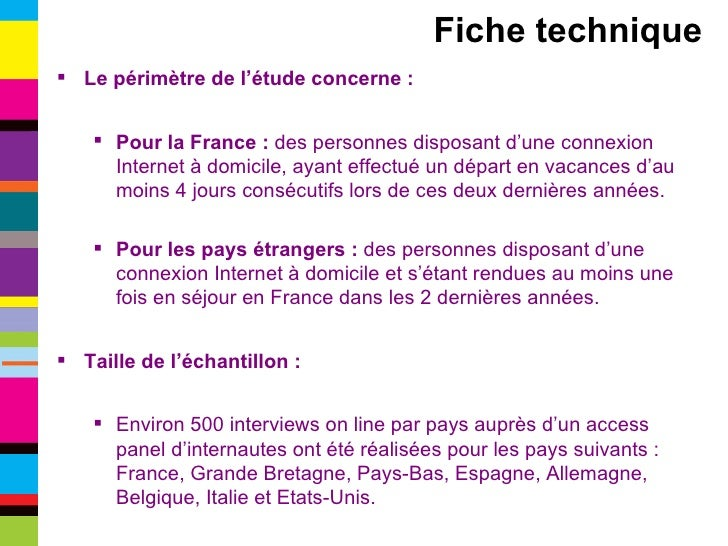 <ul><li>Le périmètre de l'étude concerne : </li></ul><ul><ul><li>Pour la France :  des personnes disposant d'une connexion...