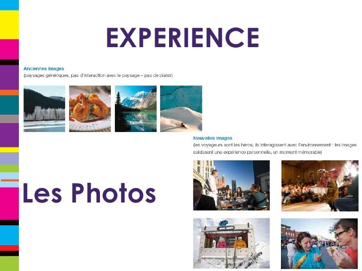 EXPERIENCE Les Photos