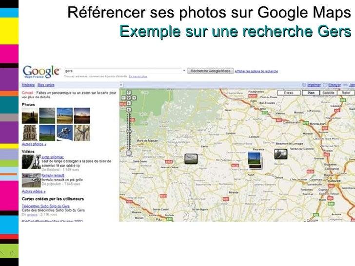 Référencer ses photos sur Google Maps Exemple sur une recherche Gers