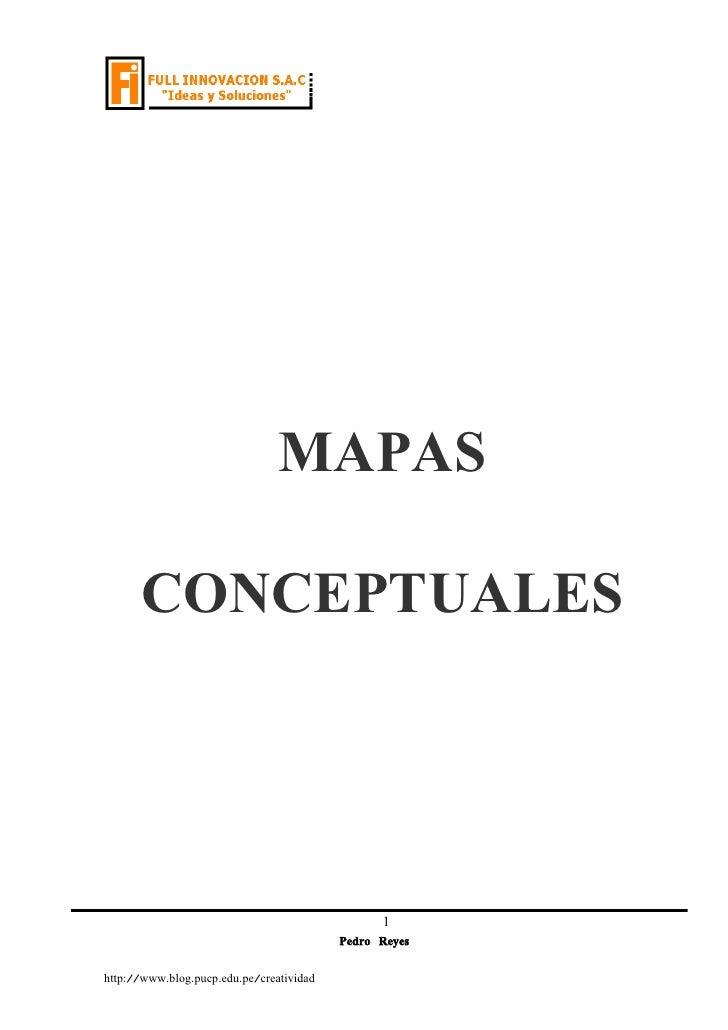 MAPAS        CONCEPTUALES                                                     1                                           ...