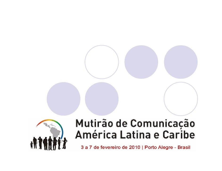 Economia e Comunicação na Era Digital  Desafios rumo à emancipação, para acabar          com a miséria na fartura         ...