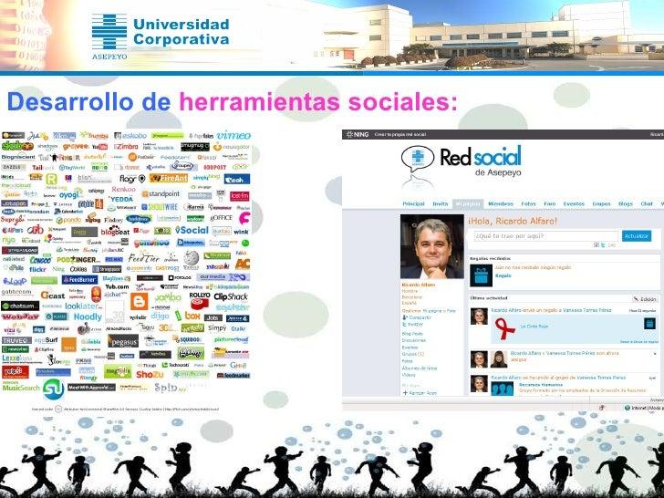 Desarrollo de  herramientas sociales: