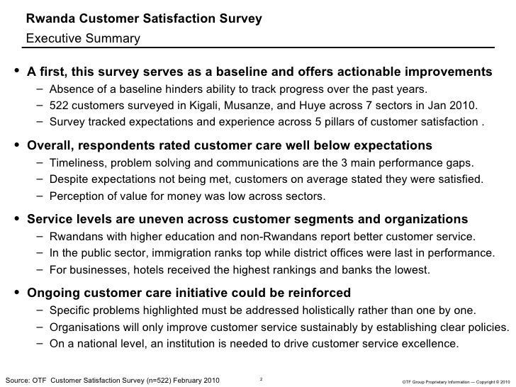 synopsis on consumer satisfaction Modern business, characterized by growing user expectations and intense  competitive relationships requires companies to survey customer satisfaction in a .