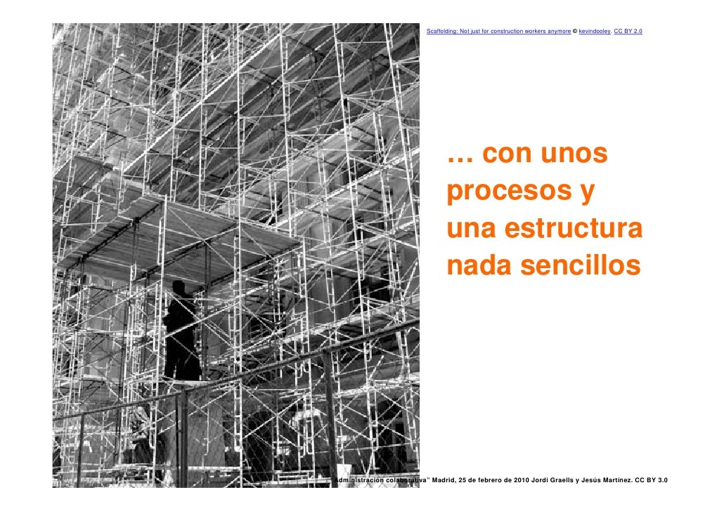 Scaffolding: Not just for construction workers anymore © kevindooley. CC BY 2.0                                           ...