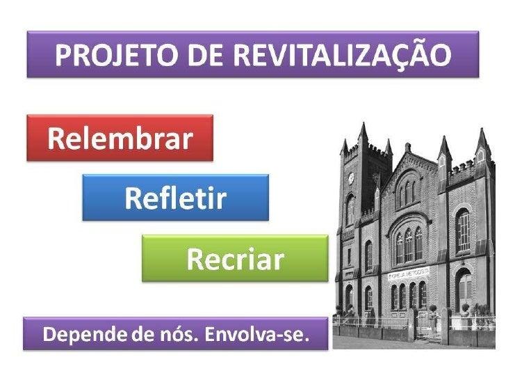 2010 02 28   revitalização - ação docente e comunicação (jpeg) Slide 2
