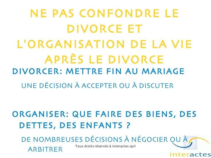 Divorce et Médiation Familiale Slide 3