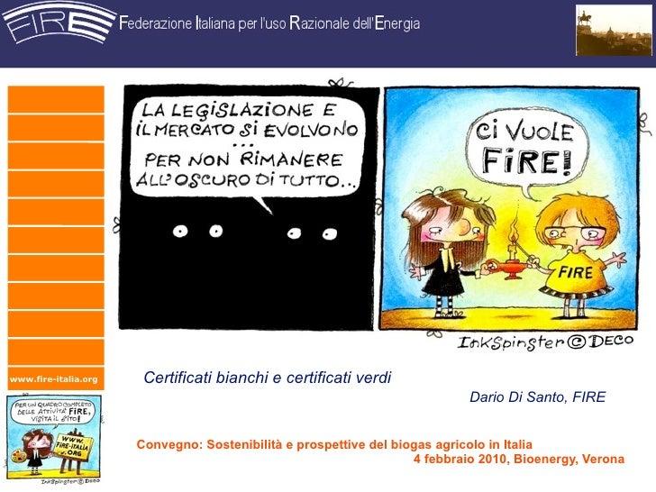www.fire-italia.org    Certificati bianchi e certificati verdi                                                            ...