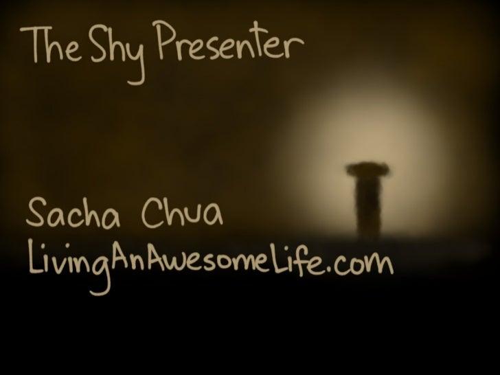 The Shy Presenter (Ignite Toronto) Slide 1