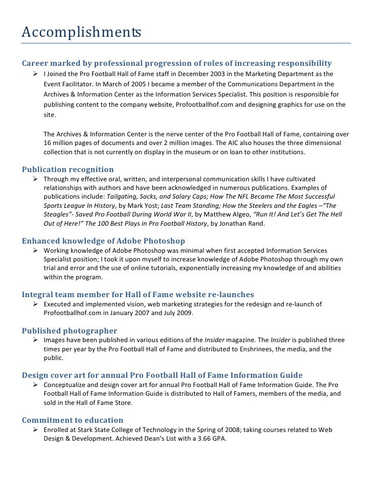 essay on personal and professional accomplishments Can any of the successful candidates tell me what the acceptable topics for the greatest personal accomplishment essayare is writing an essay about taking care of professional = write about the facts, the problems, how you conquered it, and what you learned from it don't try to make it into a sob story.