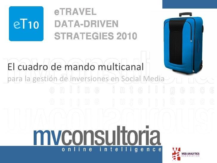 El cuadro de mando multicanal   para la gestión de inversiones en Social Media