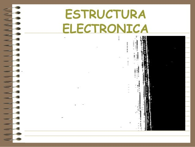 ESTRUCTURA ELECTRONICA