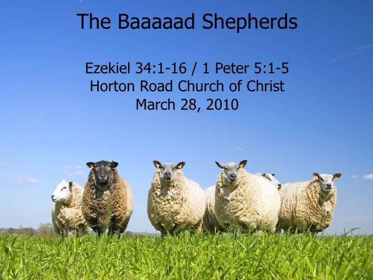 The Baaaaad Shepherds