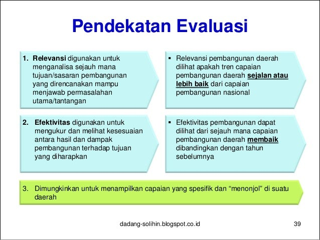 5 Kategori Indikator Outcomes yang Mencerminkan Tujuan/Sasaran Pembangunan Daerah 40dadang-solihin.blogspot.co.id Tingkat ...