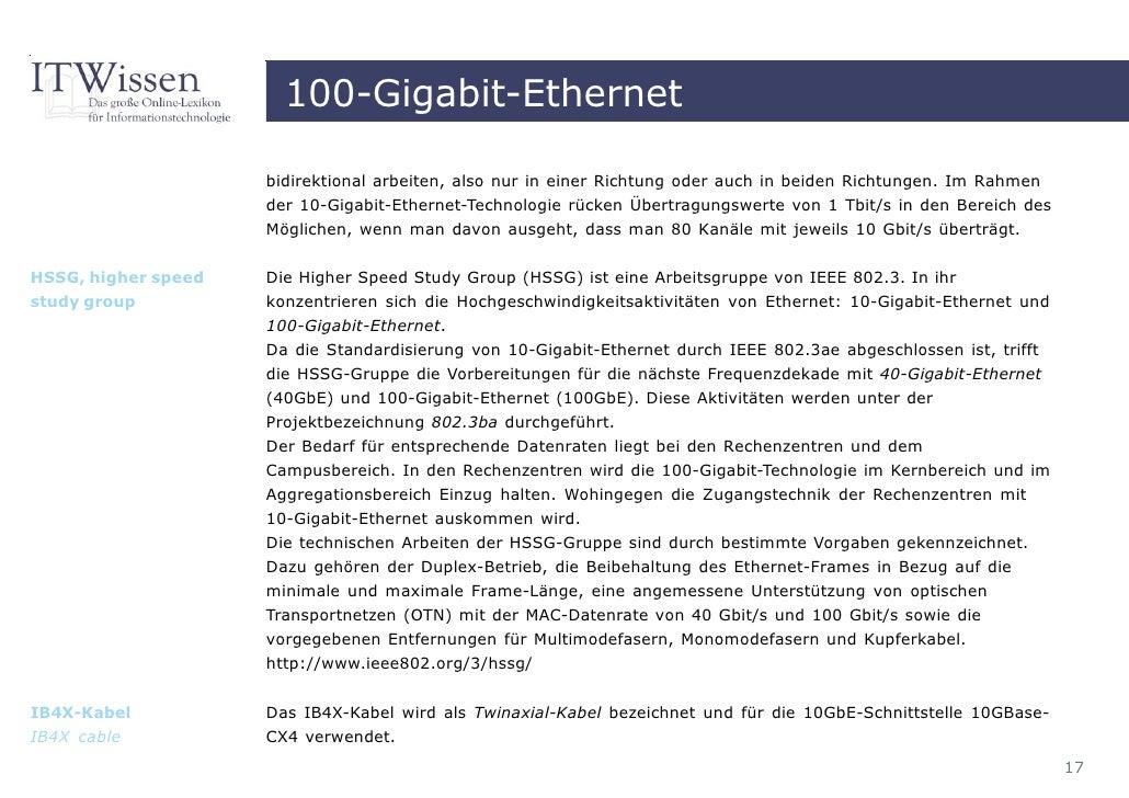 E-Book 100 Gigabit Ethernet