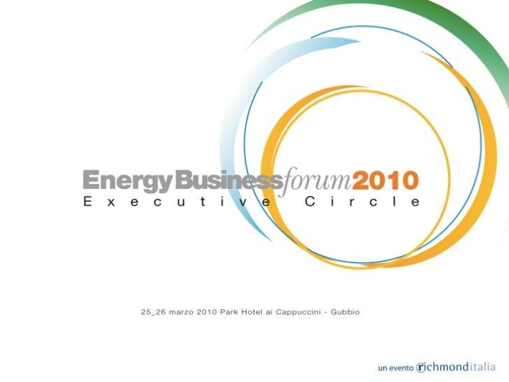 EN 16001 - Energy Management Systems: un nuovo strumento per le imprese e un nuovo ruolo per gli energy manager.          ...