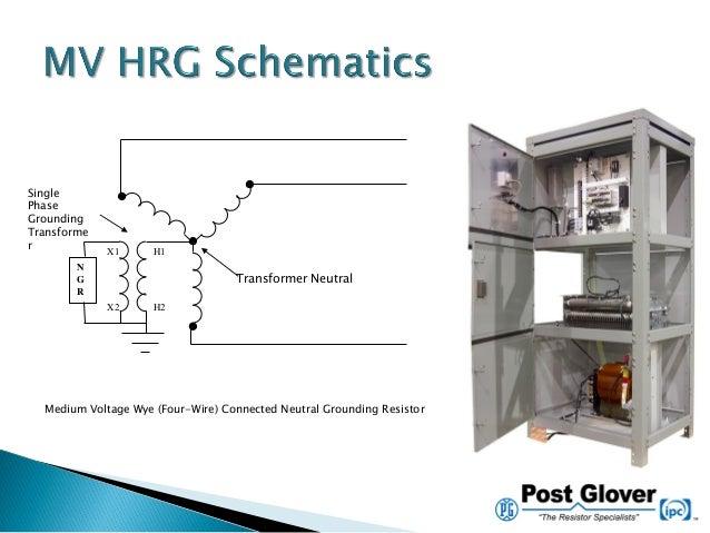 vignettes in grounding neutral grounding resistor wiring diagram  slideshare
