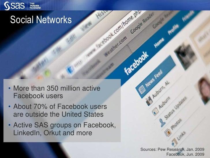 Social media at SAS<br />