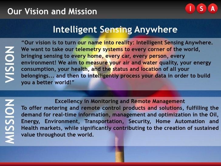 ISA - Intelligent Sensing Anywhere Slide 3
