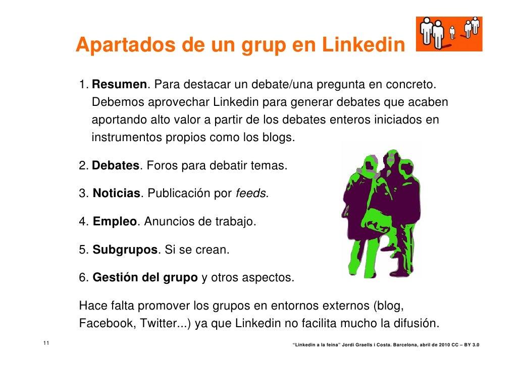 Linkedin en el trabajo for Haces falta trabajo barcelona