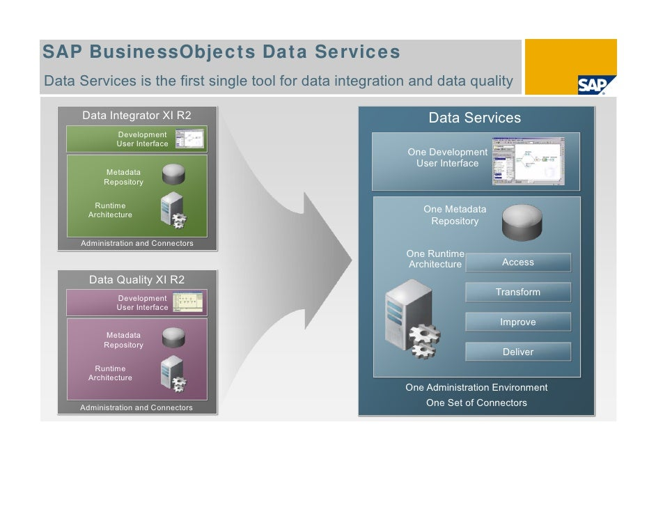 sap bo data services resume